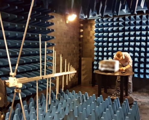 Unit 3 Compliance anechoic chamber