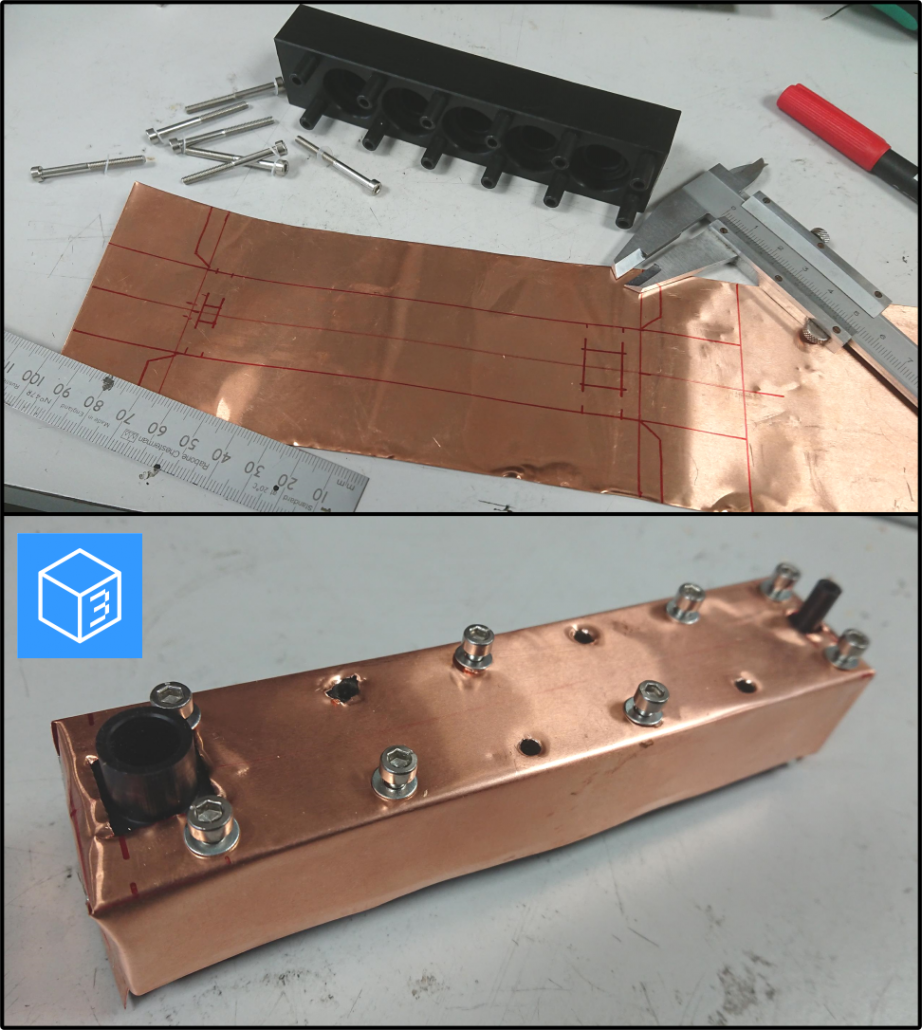 copper shield for emc emi
