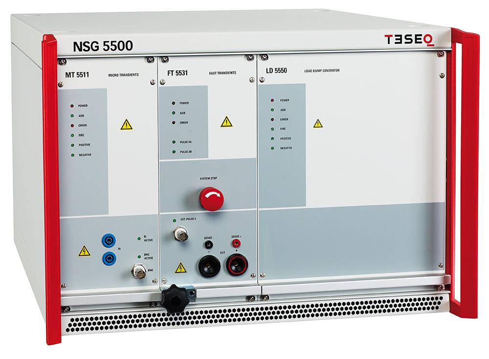 Schaffner NSG 5500 test system