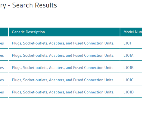 list of text results from a bsi search