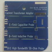 V2 pocket EMC debug probe PCB - near field probe set - board front